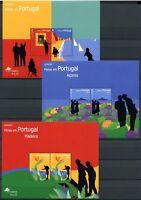 Portugal, Azoren, Madeira 3 CEPT Blöcke aus 2004 postfrisch MNH (O5192