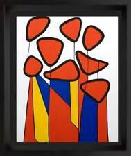 Alexander Calder Original Lithographie Limitierte Auflage, 1972 mit / Maß Rahmen