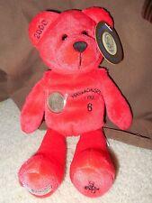 Authentic Massachusetts Collectible Quarter Bear Stuffed Animal 1999