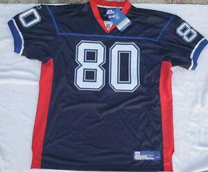 NFL Eric Moulds #80 Buffalo Bills Reebok Jersey Size 52 SIGNED AUTOGRAPH NWT🔥