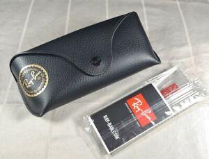 New Ray-Ban Sunglass Case, Black w/Cloth