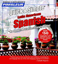 New 4 CD Pimsleur Learn to Speak Spanish Language