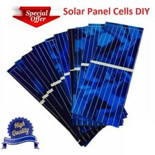 Solar Panel Cells Kit System accessories DIY Energy Home House 0.5V 320mA 100pcs