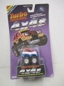 1989 Tonka Turbo Tricksters  Pull-Back Penny Racers - New on card