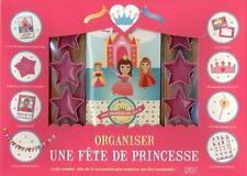 organiser une fête de princesses   coffret Duclos  Valerie Occasion Livre