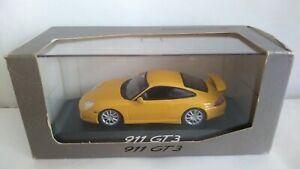 PORSCHE 911 GT3 MINICHAMPS SCALA 1/43