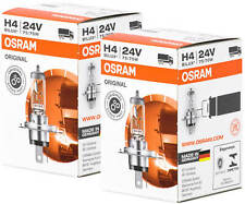 2X H4 24V 70/75W Osram P43t Lorry Lamp Halogen Bulb Headlight Bulbs