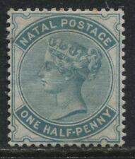 Natal QV 1880 1/2d blue green mint o.g.