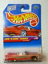 1998 LOW 'N COOL SERIES Hot Wheels '59 CADDY #699