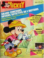Le journal de Mickey n°1793 du 4 novembre 1986 - Patrick Bruel -