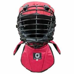 Kali Arnis Escrima Head Gear Protector for Live Sticks Training Sparring Red