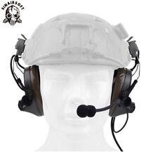 Z Tactical Aviation Headset Comtac II For FAST & Peltor Helmet Rail Adapter Set
