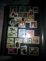 Hunde Lot Stamps Briefmarken Sellos Timbres