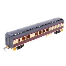 1:87 Simulation Train Model Track Freight Car Railroad Car Train Carriages D