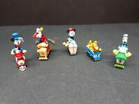 Hallmark Mini Disney Mickey Mouse Train Car Ornament Donald Goofy Minnie 1998