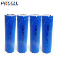 4 18650 3.7V Vape Mod Battery Lithium ion Rechargeable Batteries 2200mAh PKCELL