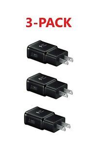3x Adaptive Fast Charging Wall Plug Charger For Samsung iPhone Galaxy S10 Note 8