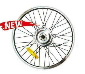 48V 250W Electric Bicycle E-Tricycle Trike Brushless Front Hub Motor Rim  22''