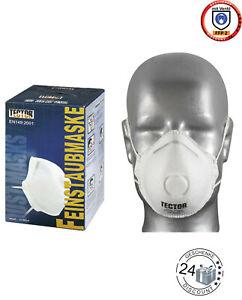 Feinstaubmaske FFP2 mit Ventil Staubmaske Atemschutzmaske Atemschutz Mundschutz