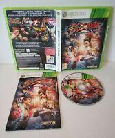 Street Fighter x Tekken - Jeu Xbox 360 - PAL Français - Très bon état - Complet