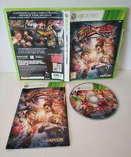 Street Fighter x Tekken - Jeu Xbox 360 - PAL Français - Très bon état -Complet