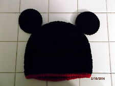 Character Crochet Mickey Mouse Beanie