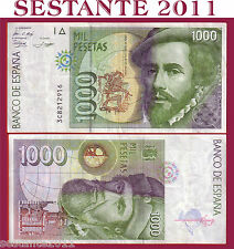 SPAIN / SPAGNA  1.000 1000  PESETAS 12.10. 1992    P 163  BB++ / VF++