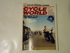 MAY 1980 CYCLE WORLD MAGAZINE,6 BIKE TOURING TEST,KAWASAKI KZ550,HONDA CR125R,