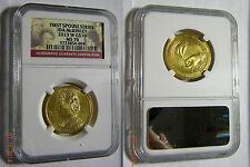 2013W $10 IDA McKinley NCG MS70 ! Very Low Mintage, Rare ! Price Reduced !