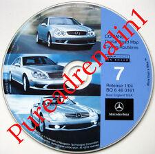 2001 MERCEDES S500 S600 S430 S55 CL600 CL55 NAVIGATION CD 7 NH CT RI MA VT NY NJ