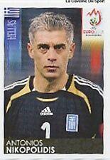 N°364 VIGNETTE PANINI DELLAS GREECE EURO 2008  STICKER