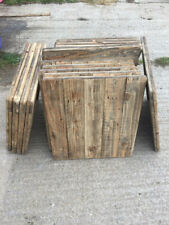 More details for reclaimed wood table tops x 10