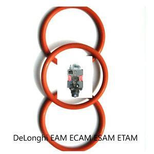 Delonghi Dichtung 3x O-Ringe  EAM ECAM ESAM ETAM AEG Privileg Brühgruppe/Kolben