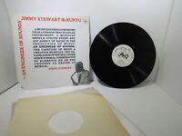 Jimmy Stewart & Kuntu: An Engineer Of Sounds 1984 US CJR 1018 LP Grade: VG