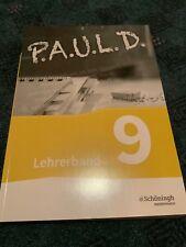 PAUL D 9. Lehrerband mit allen Lösungen