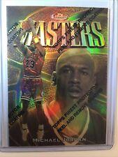 MICHAEL JORDAN 1997-98 Topps Finest Masters /289 GOLD REFRACTOR #154 RARE🏀🔥🔥