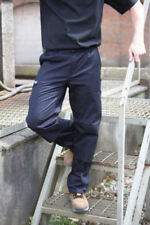 Pantalones de mujer color principal azul de poliéster talla 36