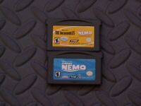 Lot Nintendo Game Boy Advance GBA Games The Incredibles/ Finding Nemo Lot