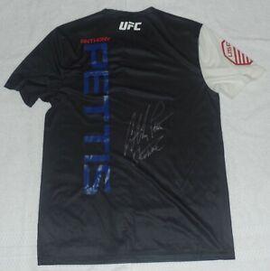 ANTHONY PETTIS SIGNED AUTO'D WALKOUT SHIRT BAS COA UFC 246 241 SHOWTIME CHAMP