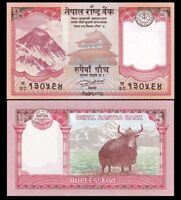 NEPAL 5 Rupees, 2017, P-NEW, UNC World Currency