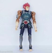 #T43k~ Thundercats LION-O  Bandai ACTION Figure old belt lost color 6""
