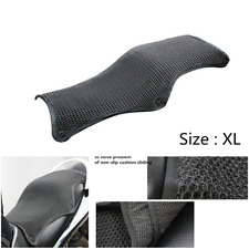 Motorcycle Cool Front Seat Cover Sunscreen Cushion 3D Mesh Breathable Non-slip