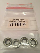 HoBao Ball Bearings 8x16x4 (4pcs) 1/8