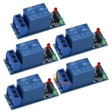 5Pcs 12V 1 Channel Relay Module Optocouple Board Shield for PIC AVR DSP ARM