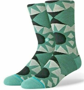 """Stance Everyday """"Lens"""" Sea Green Crew Sock Med, $2.99 Shipping"""