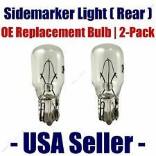Sidemarker (Rear) Light Bulb 2pk - Fits Listed Buick Vehicles - 24