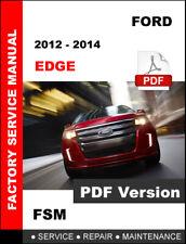 2012 - 2014 FORD EDGE SE SEL SPORT LIMITED SERVICE REPAIR OEM WORKSHOP MANUAL