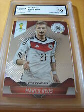 MARCO REUS GERMANY 2014 PRIZM FIFA WORLD CUP # 91 GRADED 10