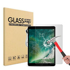 """2X 2017 Glass Screen Protector Front Case Cover For Apple iPad Pro 10.5"""" Inch"""