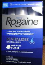 Rogaine Foam 5% Minoxidil Topical Aerosol Hair Growth Treatment 3 Month Supply